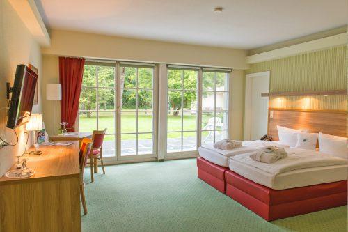Doppelzimmer im eigenen Hotelhaus