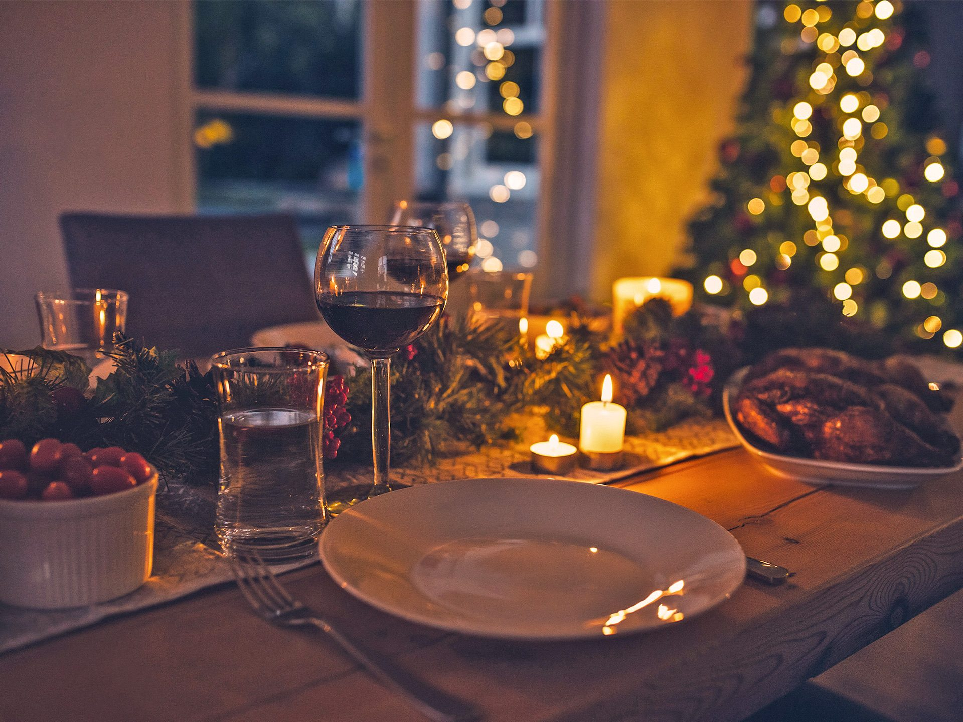 Weihnachtsfeier im Waldhaus Prieros