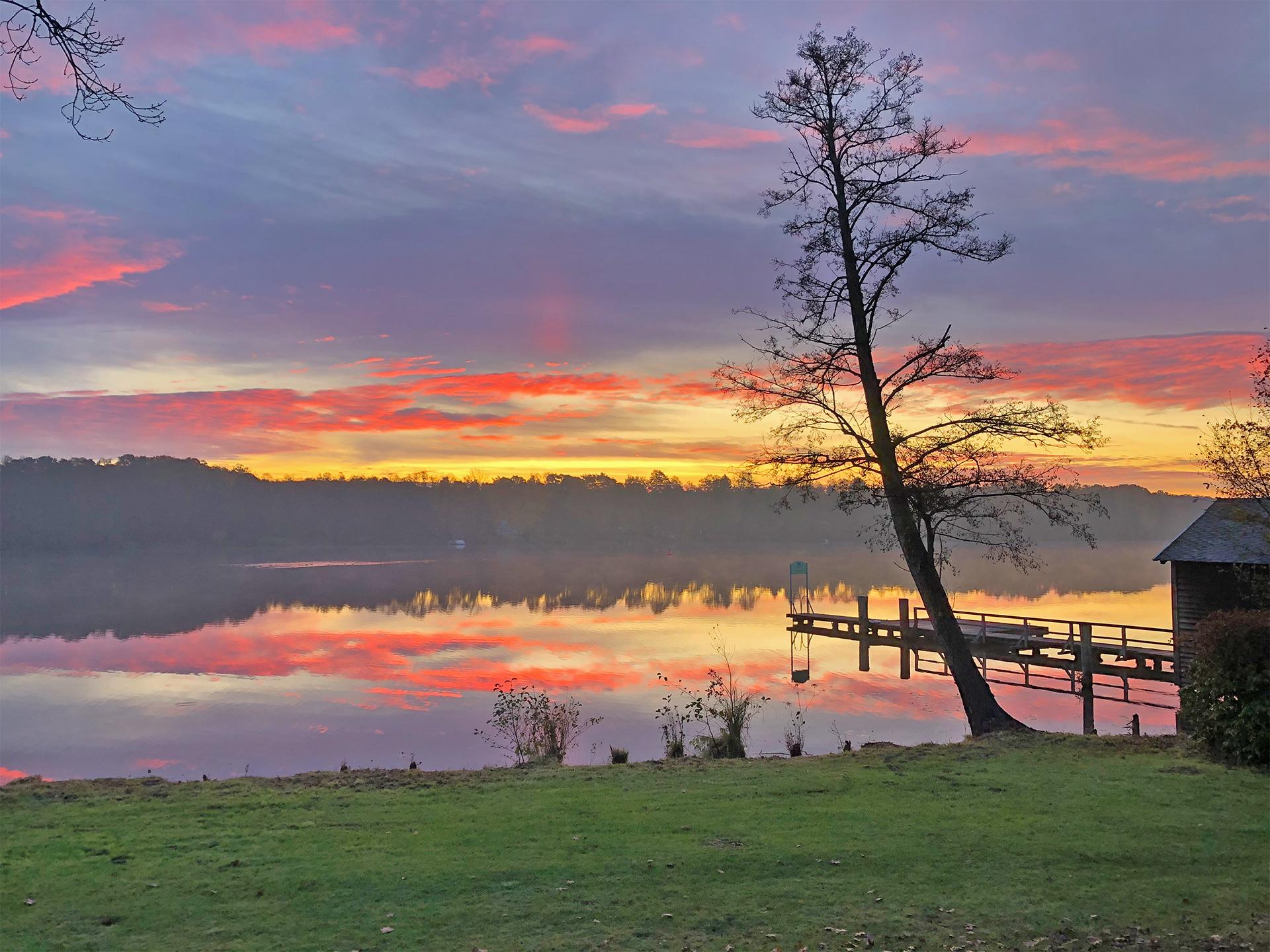 Sonnenaufgang-Streganzer See