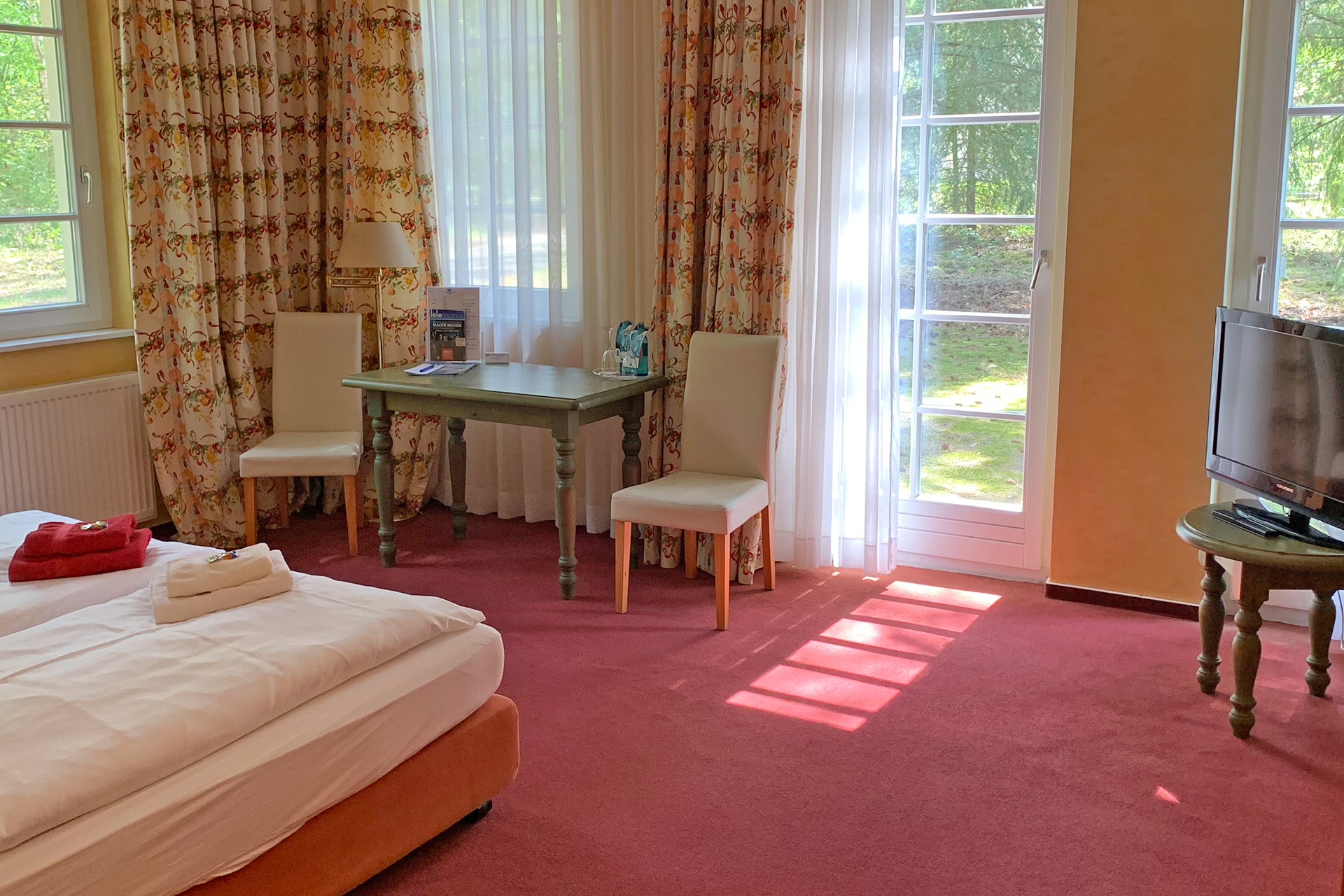 Premium-Doppelzimmer-Waldhaus-Prieros